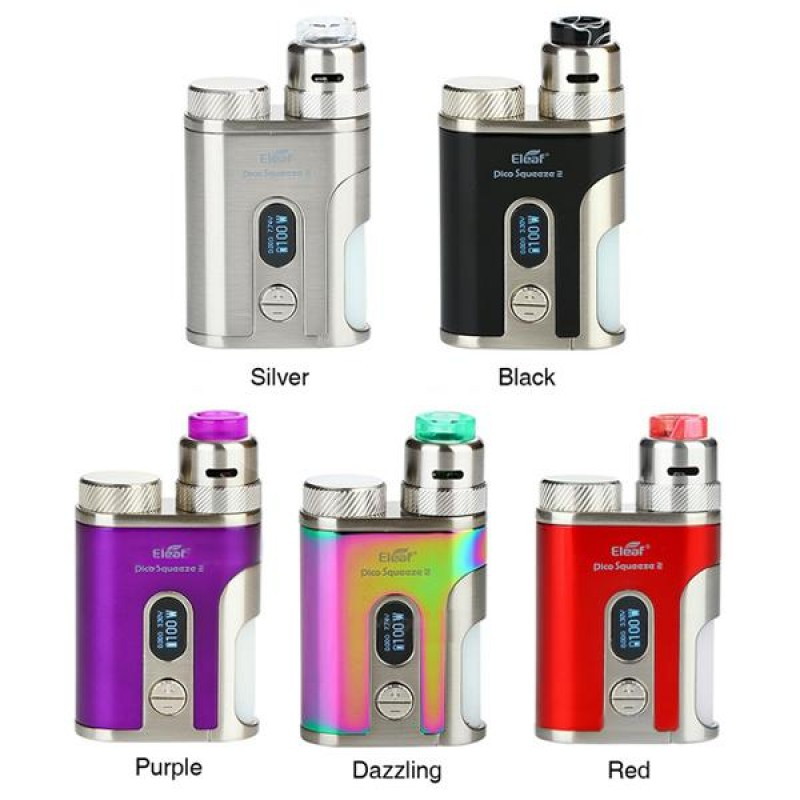 Eleaf Pico Squeeze 2 100W Squonk Kit with Coral 2 ...