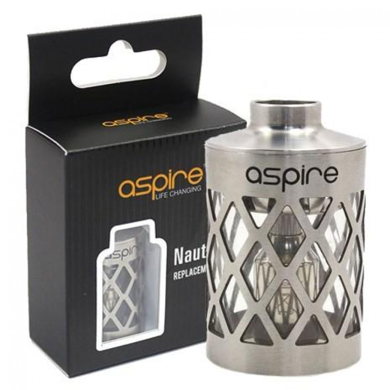 Aspire Nautilus Replacement Tank with Hollowed-out...