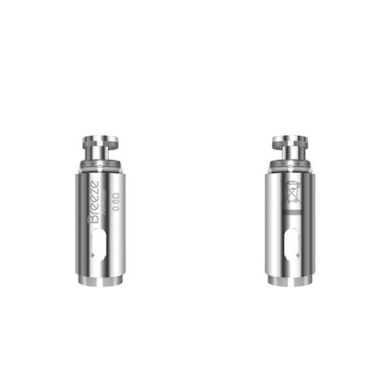 Aspire Breeze- Breeze 2 Starter Kit Replacement Coils 0.6 Ohm (5PCS-PACK)