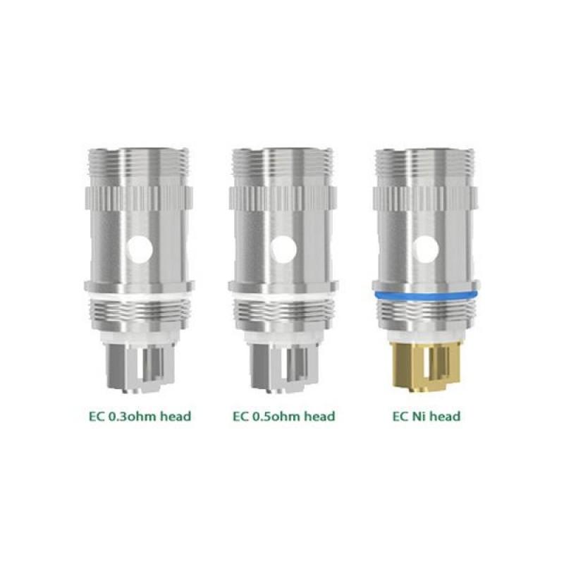 5PCS-PACK Eleaf EC Coil 0.5 Ohm-0.3 Ohm-0.15 Ohm H...