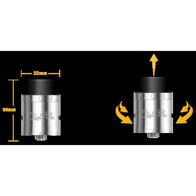 Aspire Quad-Flex Power Pack 4-in-1 Tank Atomizer
