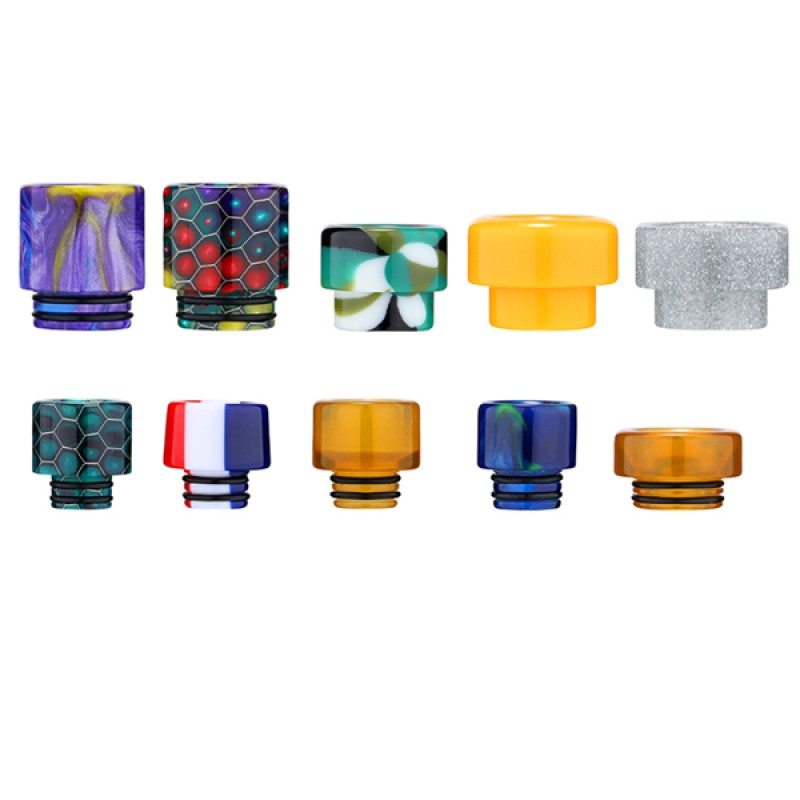 10PCS-PACK Aleader 510 and 810 Drip Tip Kit