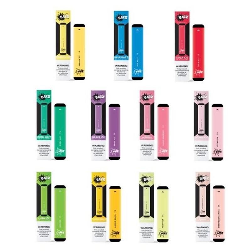 Barz Disposable Vape Device 280mAh 1.3ml(1pc/pack)